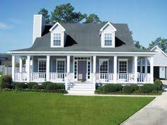 country homes plans wrap around back porch one story house houses with porches