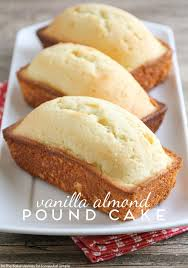 vanilla almond pound cake easy recipe on somewhat simple