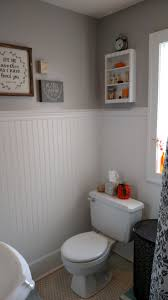 wainscoting ideas bathroom bathroom remodel painted wainscoting trim work amys office