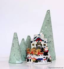 modern diy cement christmas trees u2013 diy furniture studio