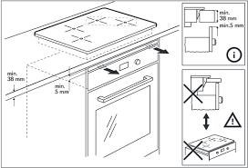meuble cuisine four plaque installer une plaque à induction au dessus du four notre maison