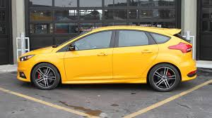 ford focus st yellow 2016 ford focus st review with price horsepower and photo gallery