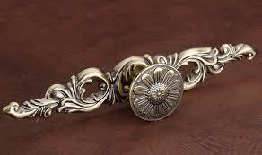 Antique Bronze Big Size Classical Kitchen Cabinet Drawer Pull Knob - Antique kitchen cabinet knobs