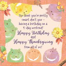 happy thanksgiving birthday free specials ecards greeting cards