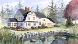 New England House Plans Nantucket Style House Design Youtube