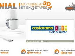 cuisine 3d castorama un nouveau logiciel pour créer sa cuisine casto 3d cuisine par
