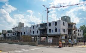 construction of wilmeth active learning center honors college and