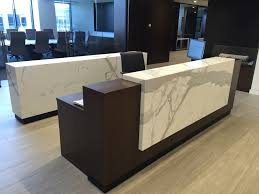 Used Reception Desks by Arnold Contract