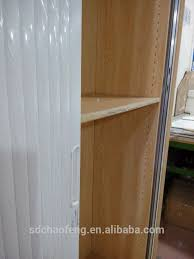 Tambour Door Cabinet Tambour Door Wooden Cabinet Roller Shutter Door Cabinet Plastic