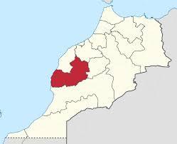 Marrakech Map World by Marrakech Tensift Al Haouz Wikipedia