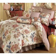 overstock girls bedding jacobean floral 6 piece cotton comforter set overstock shopping