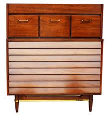 american of martinsville desk american martinsville high boy walnut dresser chest mid century modern
