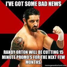 Meme Gene - bad news barrett wwe wrestling meme page 1 meme gene okerlund