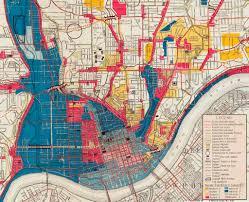 Map Of Cincinnati Official City Plan Map Downtown Cincinnati 1925 A Larger U2026 Flickr