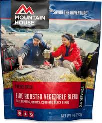 Mountain House Food by Mountain House Fire Roasted Vegetable Blend 2 5 Servings Rei Com