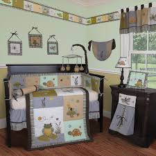 Frog Nursery Decor Froggie And Friends Crib Bedding Collection Baby Bedding And