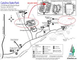 Map Of Tucson Catalina State Park Nature Trail U2014 Tucson Az Rvseniormoments