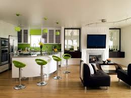 kitchen living space ideas living room and kitchen in one space 20 modern design ideas