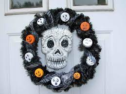 Halloween Wreath Ideas by Fascinating Halloween Home Design Inspiration Present Outstanding