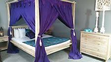 Purple Bed Canopy Four Poster Bed Canopy Ebay