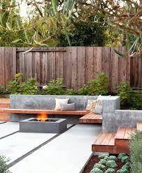 patio ideas modern garden design ideas great lighting fireplace