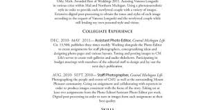 Electronic Resume Example by Photographer Resume Template Top Commercial Photographer Resume