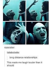 Long Distance Relationship Meme - voldemort harry potter long term relationship jpg