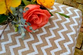 personalized burlap table runner for thanksgiving burlap table