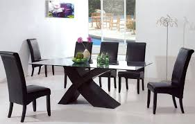 dining table open plan dining space features sleek table bright