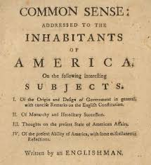 thomas paine u0027s common sense lesson plan