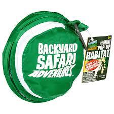 amazon com backyard safari mini pop up habitat toys u0026 games
