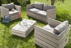 diy outdoor garden furniture 3 steps