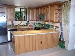mural tiles for kitchen backsplash ceramic tile murals for kitchen backsplash kitchen design tropical