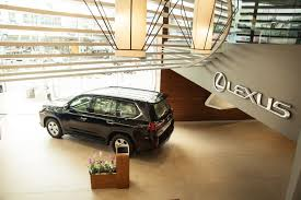 lexus india lexus opens its fourth showroom in india in bangalore