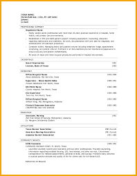 How To Write A Nursing Resume New Grad Rn Resume Template Resume Templates And Resume Builder