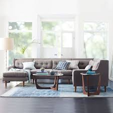 Pottery Barn Seagrass Sectional Upholstered Furniture Collections West Elm