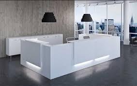 Z2 Reception Desk Z2 Receptionsskranke Med Led Belysning