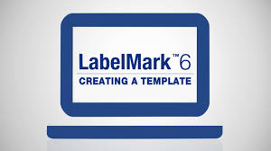 how to create a template on labelmark 6 software youtube