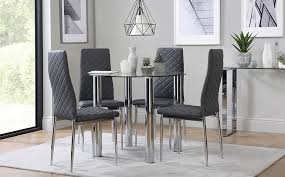 Small Glass Dining Room Tables Dining Room Design Glass Top Dining Table Set Chairs With In