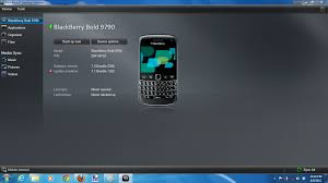 how to manually update a blackberry smartphone using the desktop
