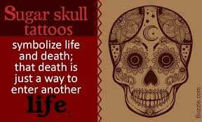 what does a sugar skull symbolize the answer is thrilling