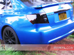 subaru midnight rtint subaru wrx sedan 2008 2014 tail light tint film