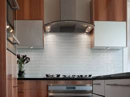 glass mosaic kitchen backsplash long glass white subway