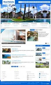 Free Joomla Real Estate Template by Sj Real Estate Template Vn