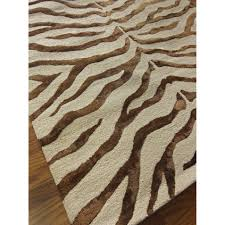 Zebra Print Throw Rug Brown Zebra Area Rug Roselawnlutheran