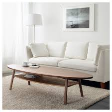 stockholm coffee table walnut veneer 180x59 cm ikea