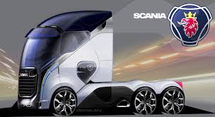 semi truck manufacturers scania concept truck by hafisidris on deviantart trucks