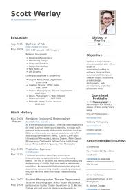 Photographer Resume Examples by Freelance Designer Resume Samples Visualcv Resume Samples Database