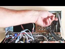 removing a nutone im3003 radio intercom master station for repair