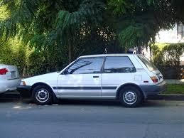1982 Toyota Corolla Hatchback The Street Peep 1988 Toyota Corolla Fx